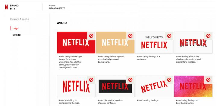 customer engagement strategy example: netflix consistent branding